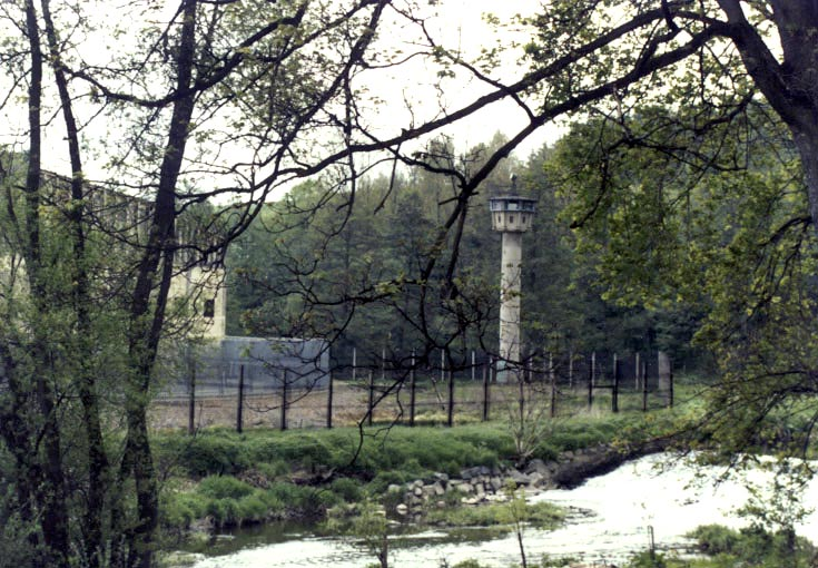1986 East German Border Near Camp Hof Border Surveillance Station